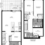 The Logan Residences - 3 Bed, Den, and 3 Bath - Leslie Floorplan