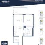 Lighthouse East Tower Condos - Grand Haven Beach - Floor Plan
