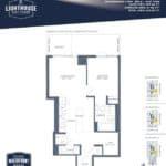 Lighthouse East Tower Condos - Pelican Beach - Floor Plan