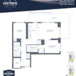 Lighthouse East Tower Condos - Sugar Beach - Floor Plan
