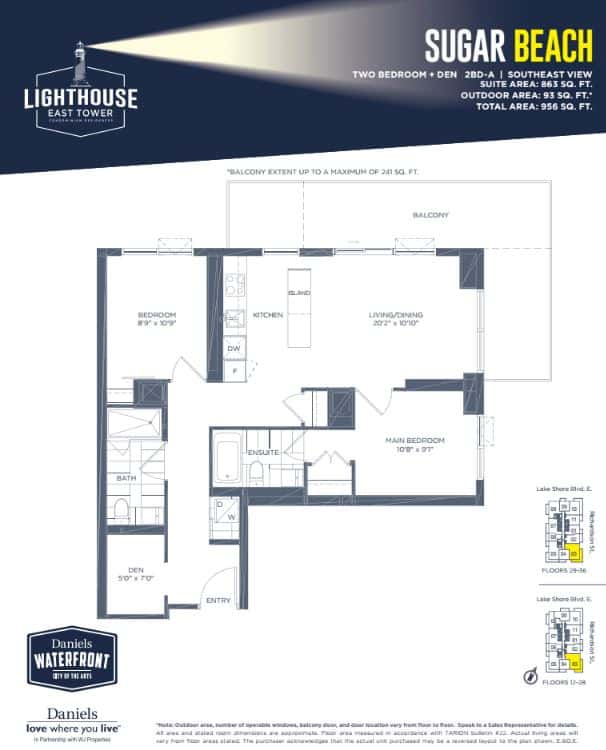Lighthouse East Tower Condos Pricing Floor Plans Precondo