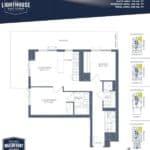 Lighthouse East Tower Condos - Venice Beach - Floor Plan