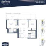 Lighthouse East Tower Condos - Waikiki Beach - Floor Plan