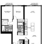 The Logan Residences - 3 Bed, and 2 Bath - Monarch Floorplan