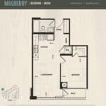 Oak & Co Condos - Mulberry - Floorplan