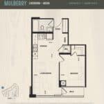 Oak & Co Condos - Mulberry - Floorplan