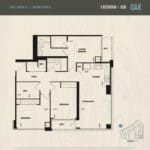 Oak & Co Condos - Oak - Floorplan