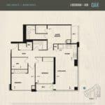 Oak & Co Condos - Oak - Floorplan