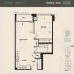 Oak & Co Condos - Olive - Floorplan