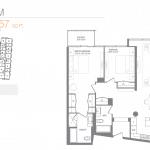 Pier 27 Condos - P-013 - Floorplan