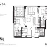 Panda Condos - P1178 - Floorplan