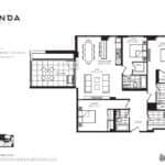 Panda Condos - P1341 - Floorplan