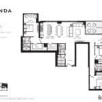 Panda Condos - P1658 - Floorplan