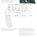 Pier 27 Condos - Suite 1304 - Floorplan