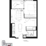 Queensway Park Condos - B1 - Floorplan