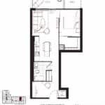 Queensway Park Condos - B4 - Floorplan