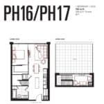 Queensway Park Condos - PH16 - Floorplan