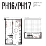 Queensway Park Condos - PH16 - Floorplan