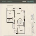 Oak & Co Condos - Redwood - Floorplan