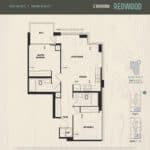 Oak & Co Condos - Redwood - Floorplan