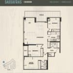 Oak & Co Condos - Sassafras - Floorplan
