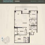 Oak & Co Condos - Sassafras - Floorplan