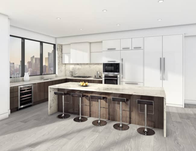 Suite T2HD Kitchen