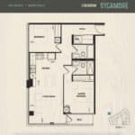 Oak & Co Condos - Sycamore - Floorplan