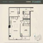 Oak & Co Condos - Sycamore - Floorplan