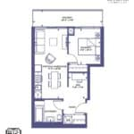 The Diamond - 1 - Floorplan