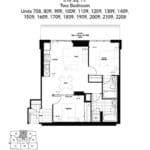 The Humber Condos - 2F - Floor Plan