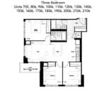 The Humber Condos - 3B - Floor Plan