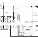 The Insignia - The Beringer - 3 + Den - Floorplans
