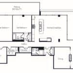 The Insignia - The Castle - 3 + Den - Floorplans