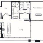 The Insignia - The Monterey - 2 + Den - Floorplans