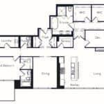 The Insignia - The Napa - 3 + Den - Floorplans