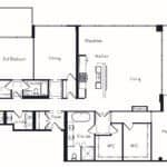 The Insignia - The Phelps - 3 + Den - Floorplans