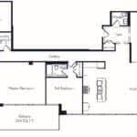 The Insignia - The Sonoma - 3 + Den - Floorplans