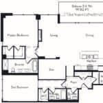 The Insignia - The Taplin - 2 + Den - Floorplans