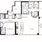 The Insignia - The Thoman - 3 + Den - Floorplans