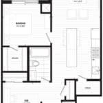 The Lofthouse Condos - 755 Loft - Floorplan