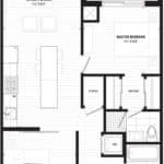 The Lofthouse Condos - 810 Loft - Floorplan
