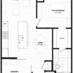 The Lofthouse Condos - 935 Loft - Floorplan