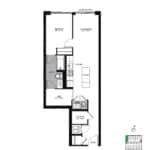The Logan Residences - Ashbridge - Floorplan