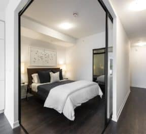 The Logan Residences - Ashdale Model Suite - Bedroom