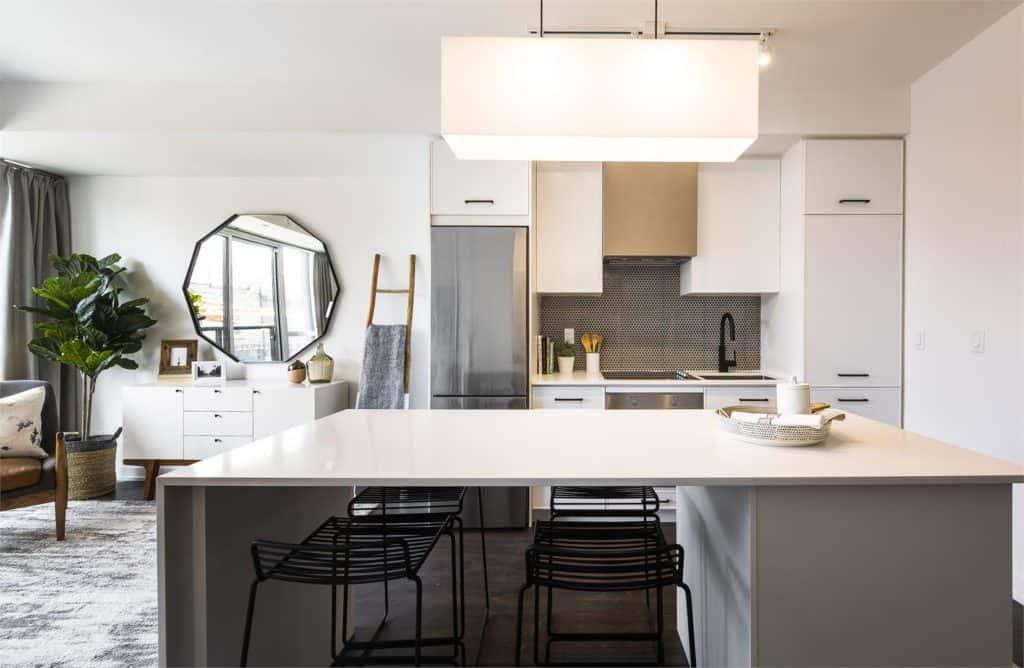 The Logan Residences - Ashdale Model Suite - Kitchen 2