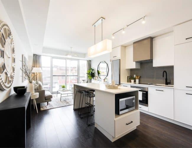 The Logan Residences - Ashdale Model Suite - Kitchen