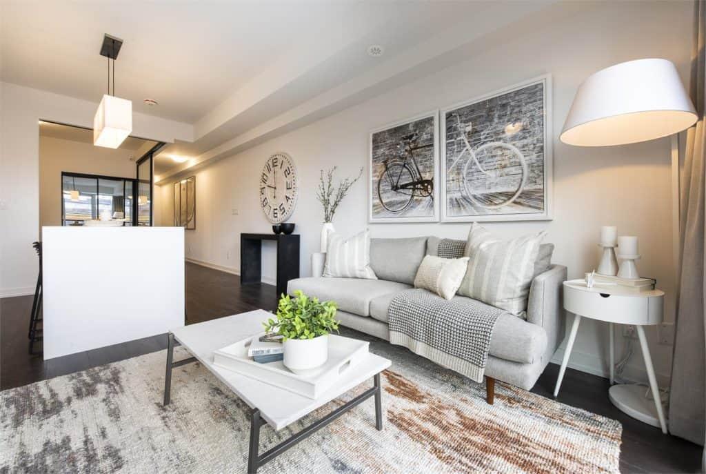 The Logan Residences - Ashdale Model Suite - Living Space
