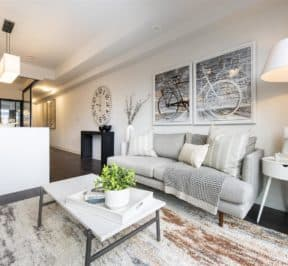 The Logan Residences - Ashdale Model Suite - Living Space