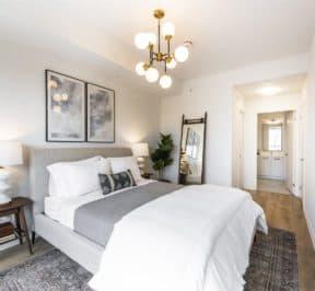 The Logan Residences - Coady Urban Town Model - Bedroom